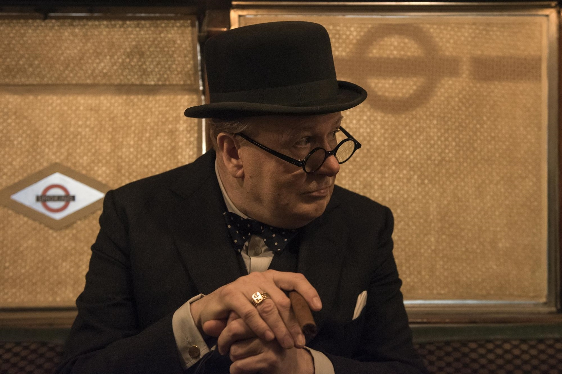 Winston Churchill in der Subway, Copyright: Universal Pictures International Germany GmbH
