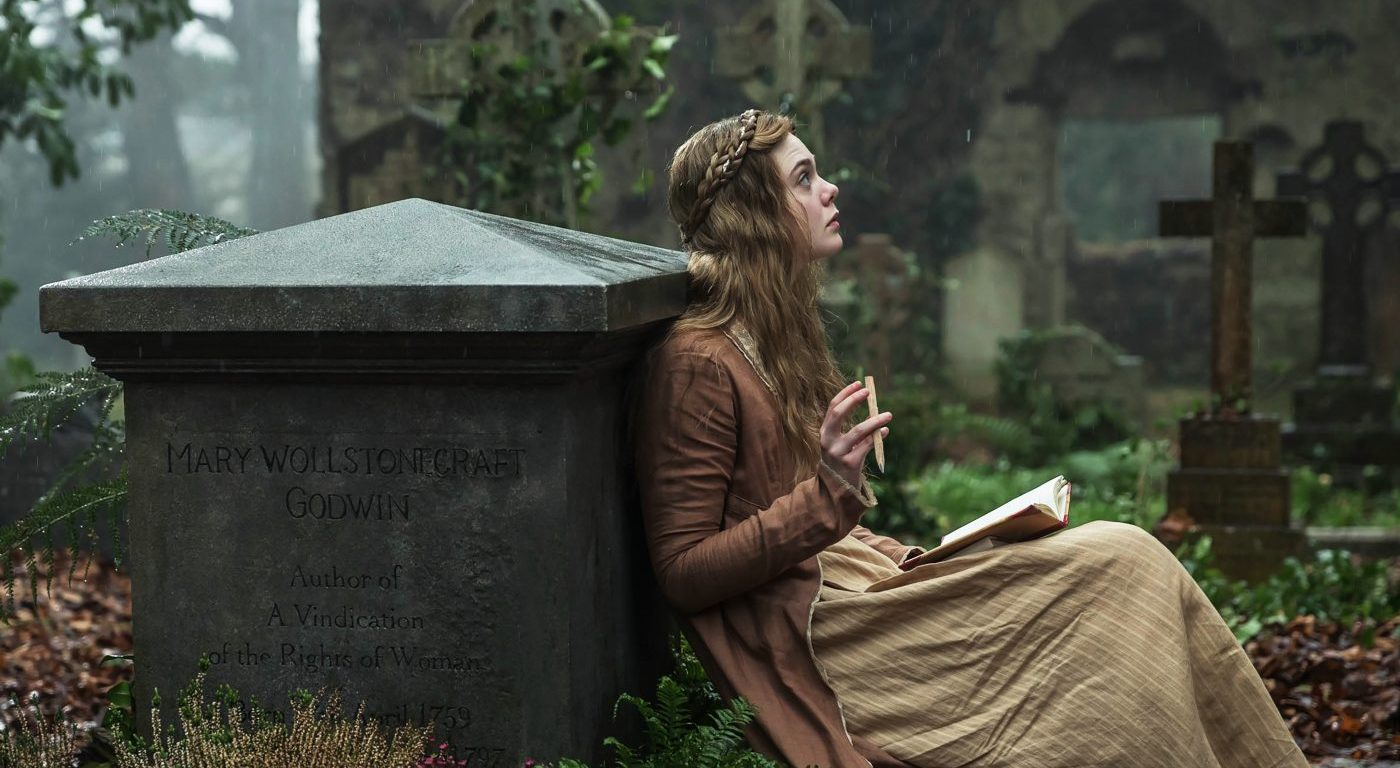 "Elle Fanning in ""Mary Shelley""; Copyright: Prokino"