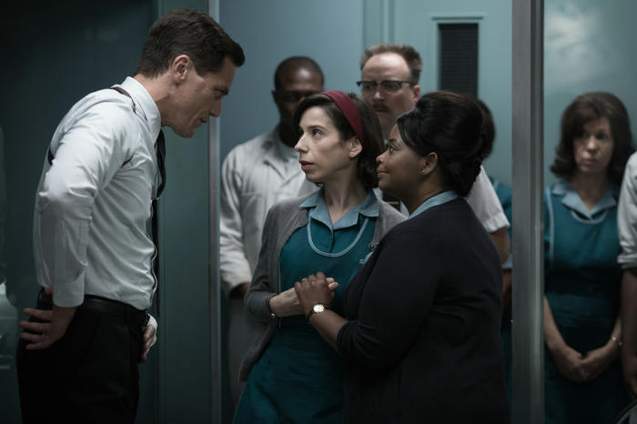 Michael Shannon, Sally Hawkins und Octavia Spencer in The Shape Of Water