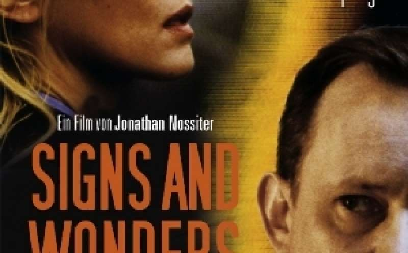 Signs and Wonders - DVD-Cover