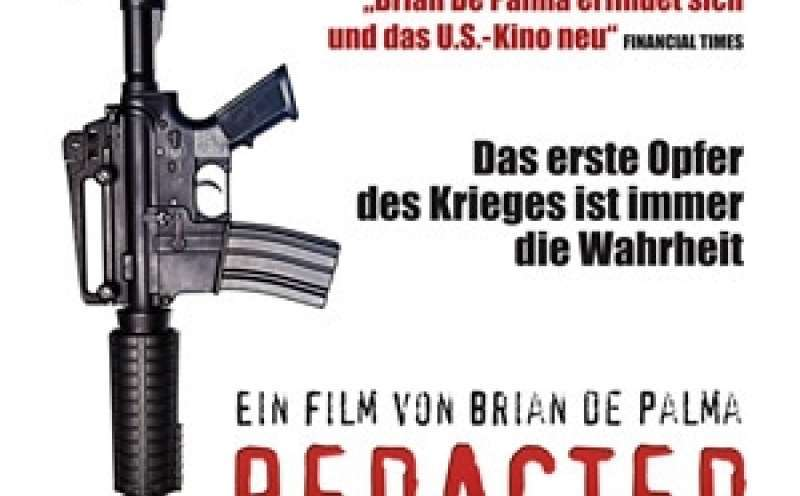 Redacted - DVD-Cover