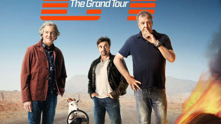 The Grand Tour läuft auf Amazon Prime