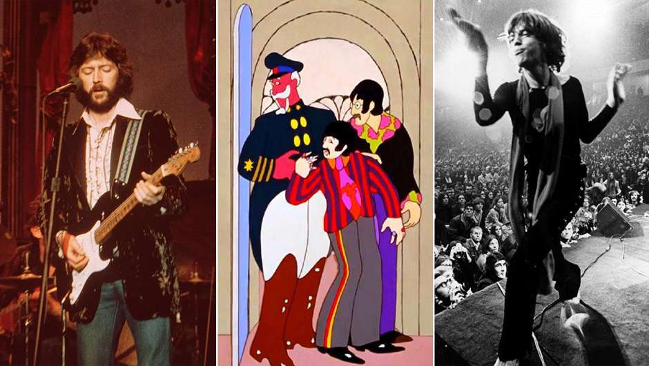 """The Band"", ""Yellow Submarine"" und ""Gimme Shelter"""