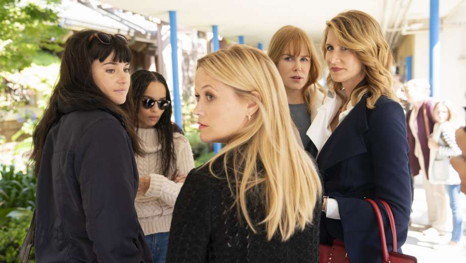 "Der Cast der Miniserie ""Big Little Lies"""