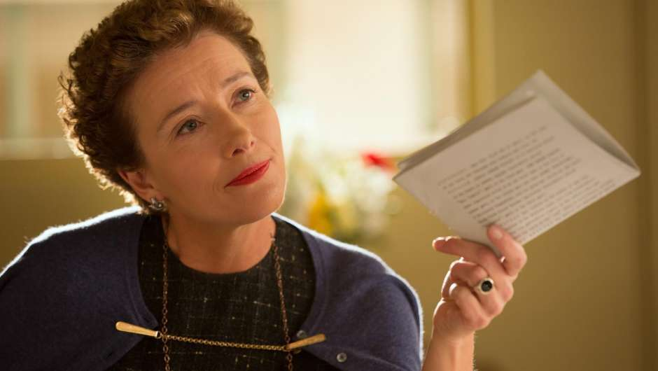 "Emma Thompson in ""Saving Mr. Banks"""