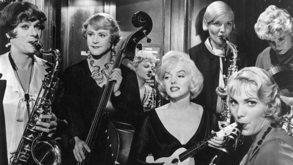 Filmstill zu Some like it hot / Manche mögen's heiß