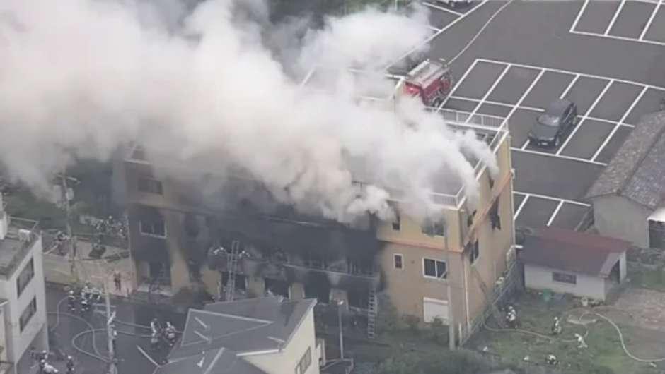 News   Aktuelles   33 Tote bei Brandanschlag auf Anime-Studio in Kyoto