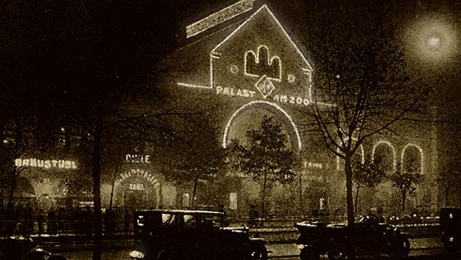 Der UFA-Palast am Zoo in Berlin 1923