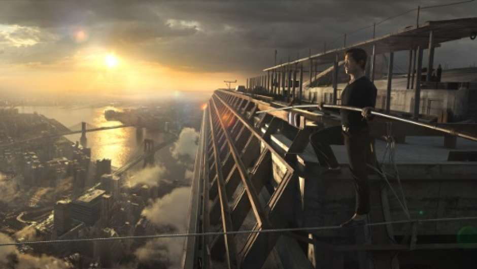 "Filmstill aus ""The Walk"""