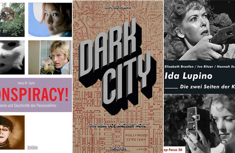 Cover: Conspiracy!/Dark City/Ida Lupino