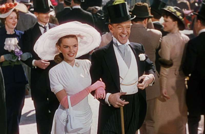 "Judy Garland und Fred Astaire in ""Osterspaziergang"""