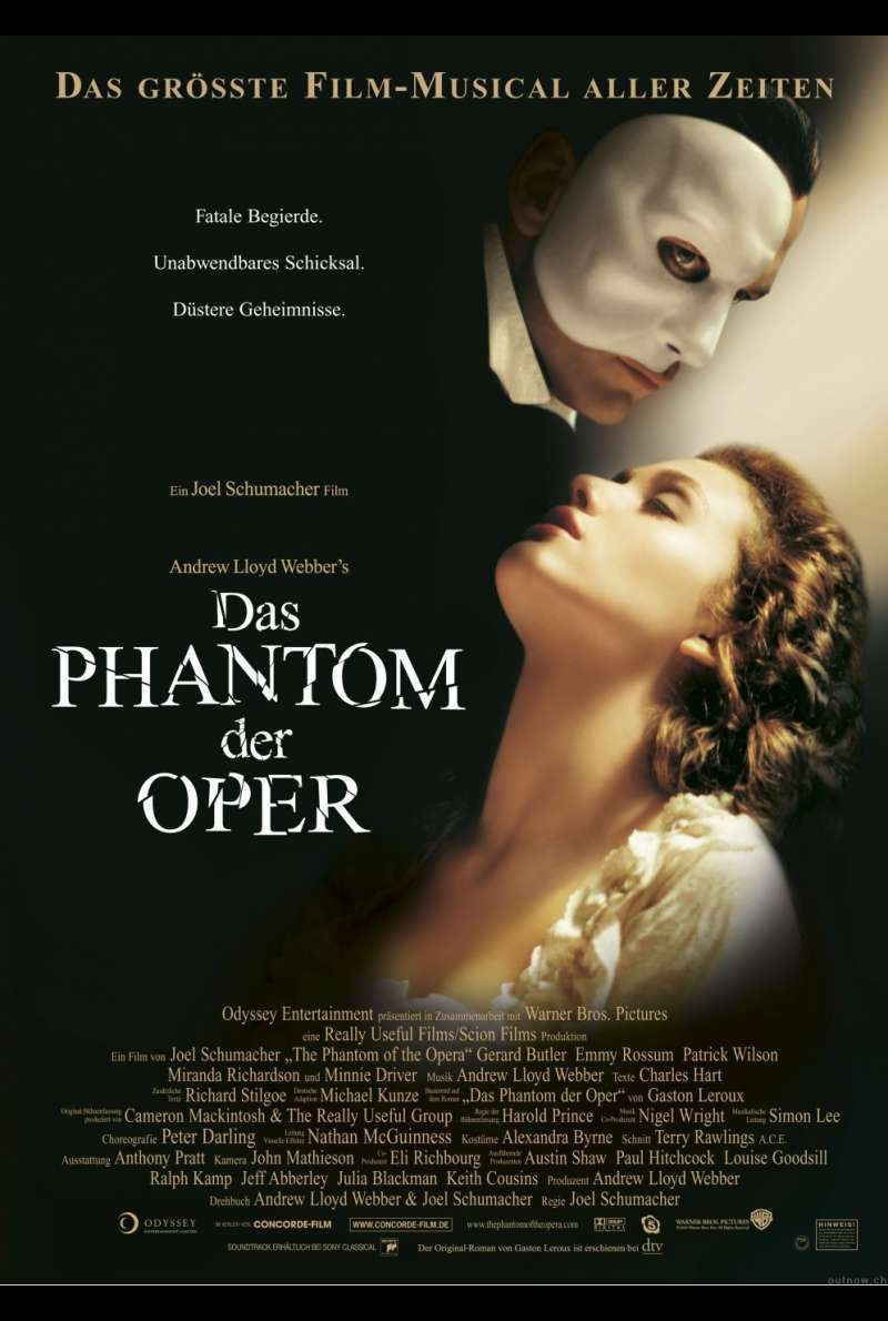 Das Phantom der Oper - The Phantom of the Opera Plakat