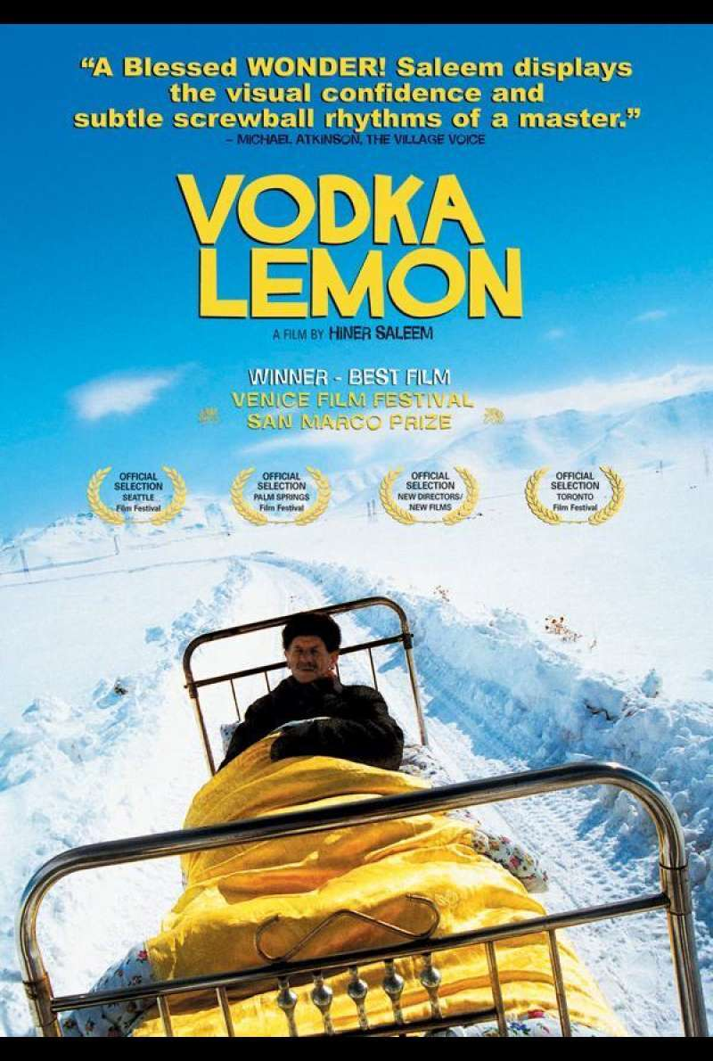 Wodka Lemon Plakat