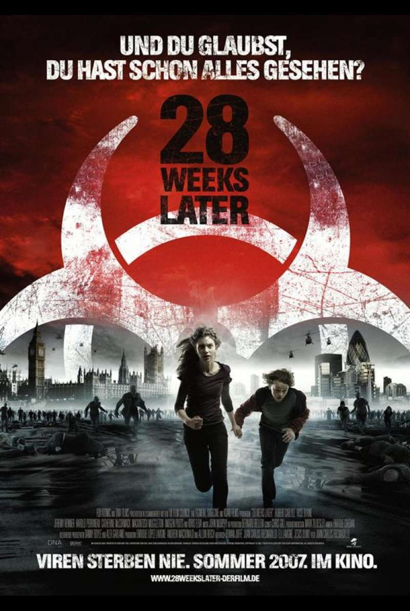 28 Weeks Later Plakat