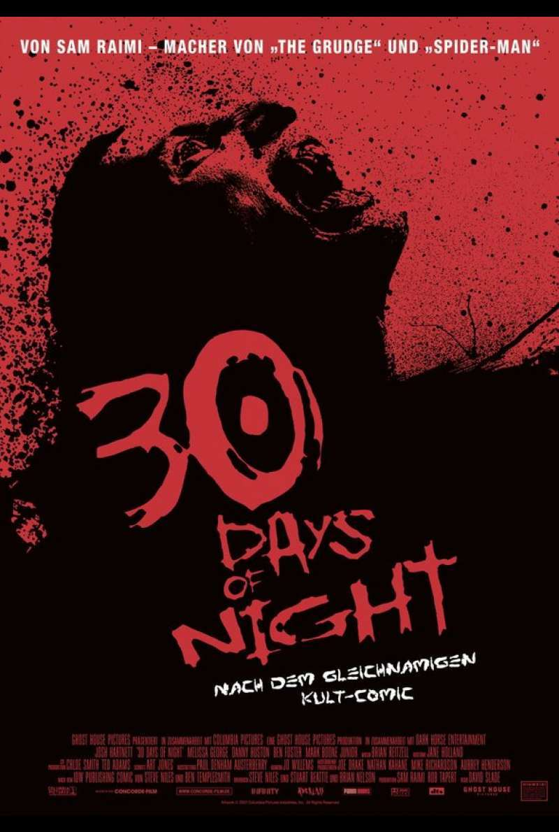 30 Days of Night Plakat