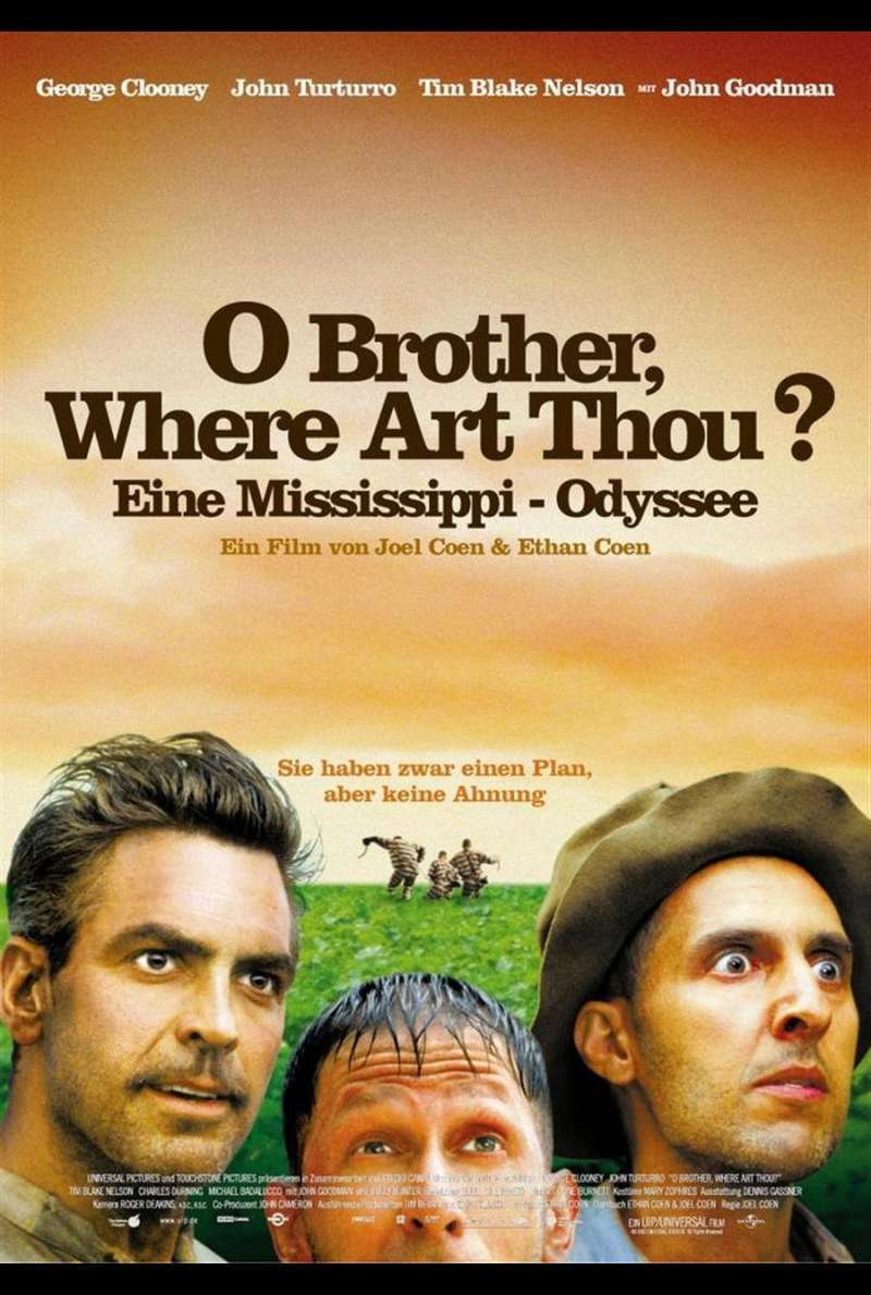 O Brother Where Art Thou Plakat