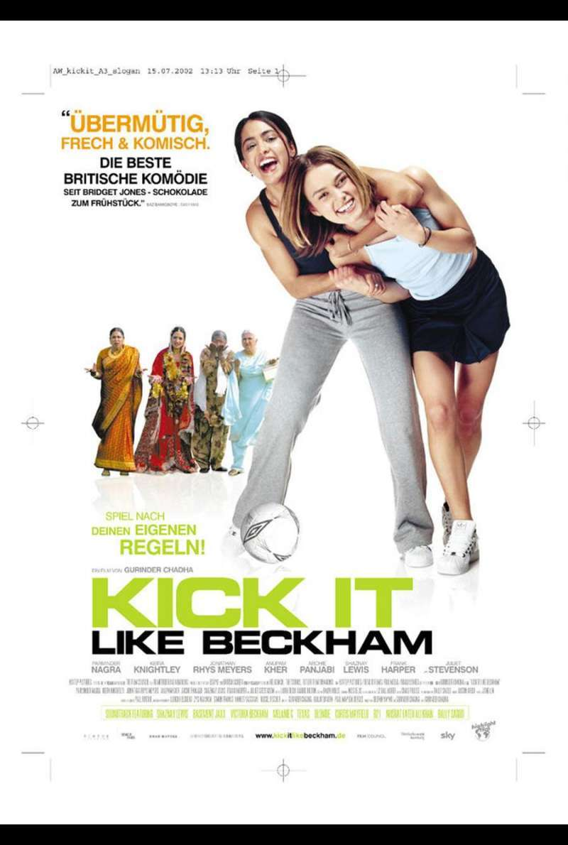 Kick It Like Beckham Plakat