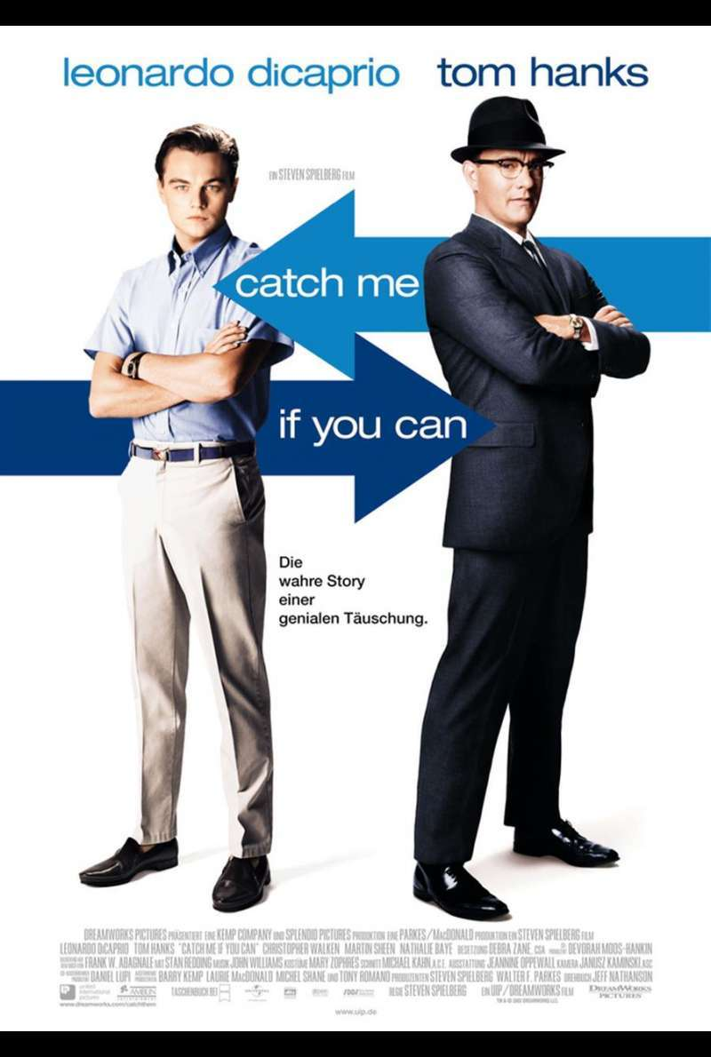 Catch Me If You Can Plakat