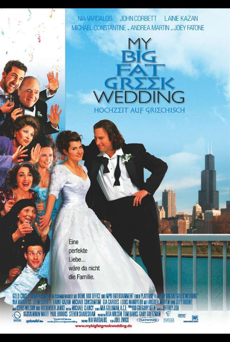 My Big Fat Greek Wedding Plakat