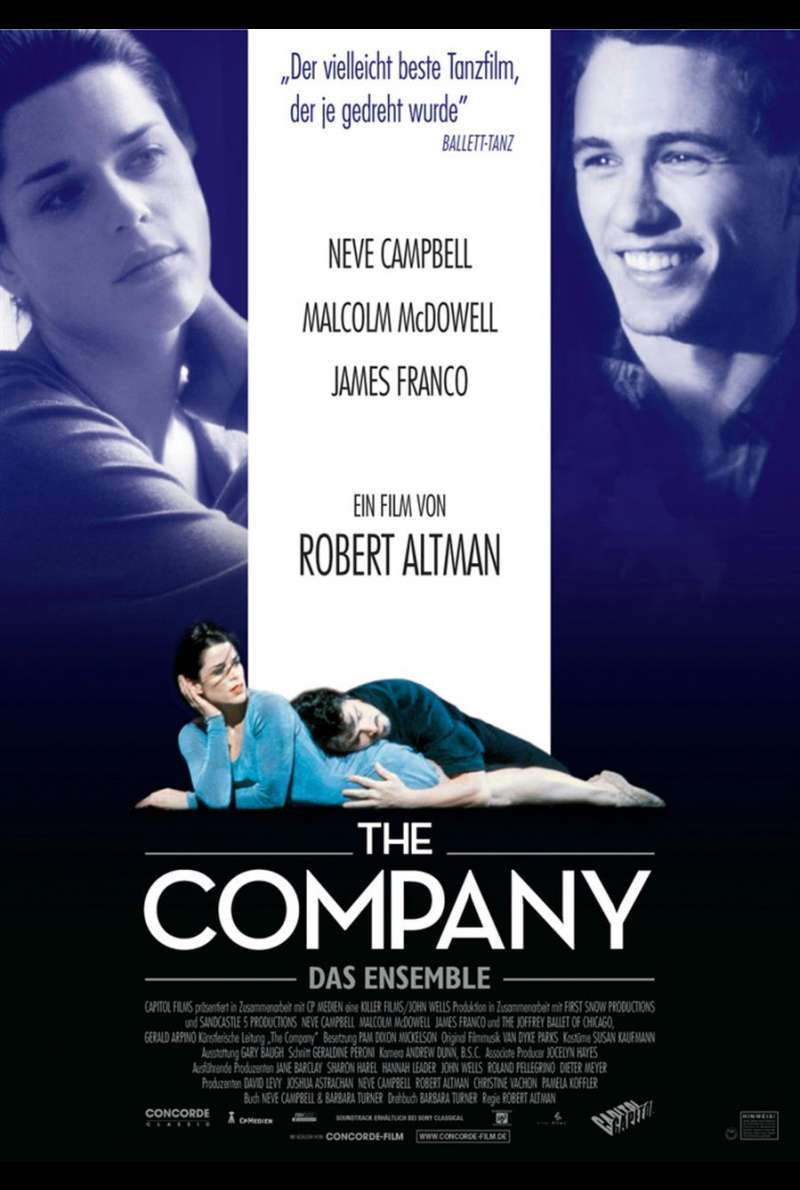 The Company - Das Ensemble Plakat