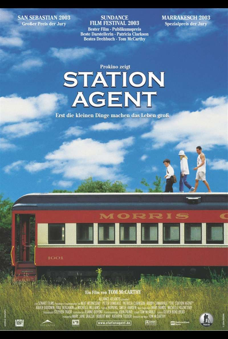 The Station Agent Plakat