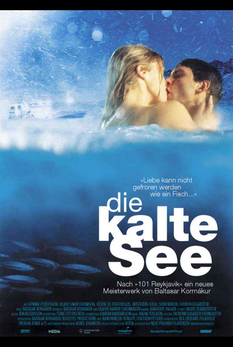 Die kalte See - The Sea Plakat