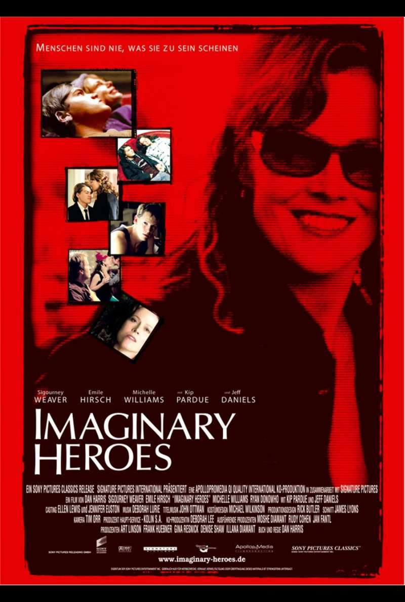 Imaginary Heroes Plakat