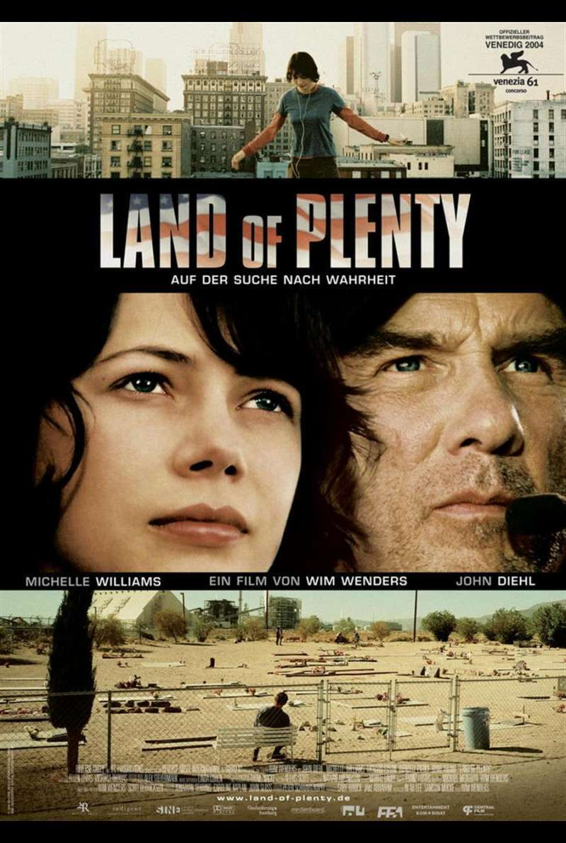 Land of Plenty Plakat