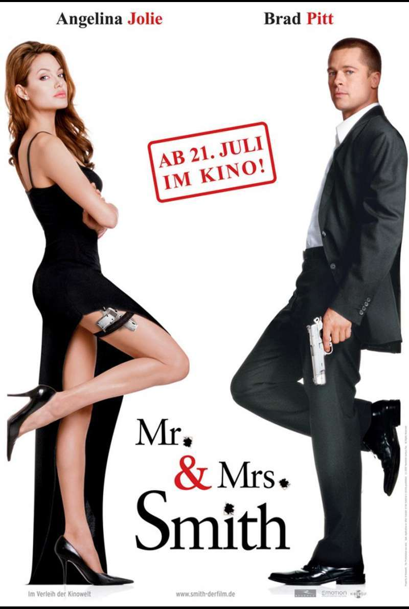 Mr. & Mrs. Smith Plakat
