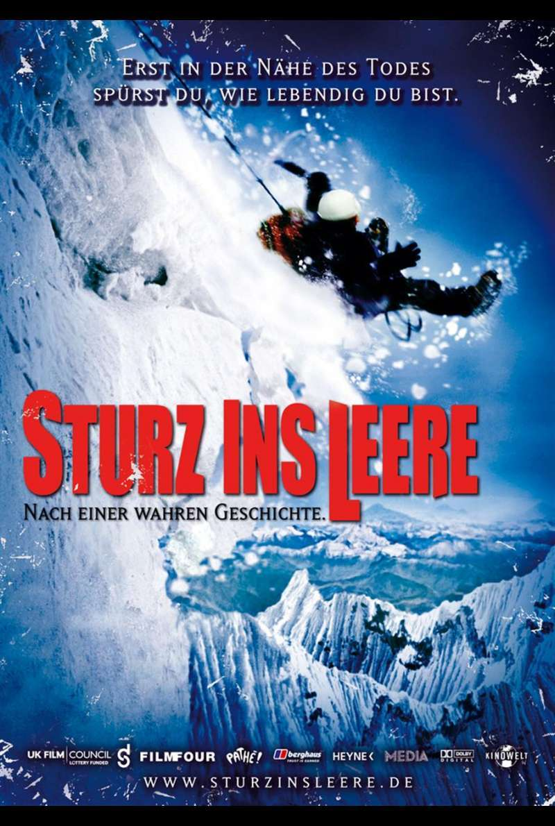 Sturz ins Leere - Touching the Void Plakat