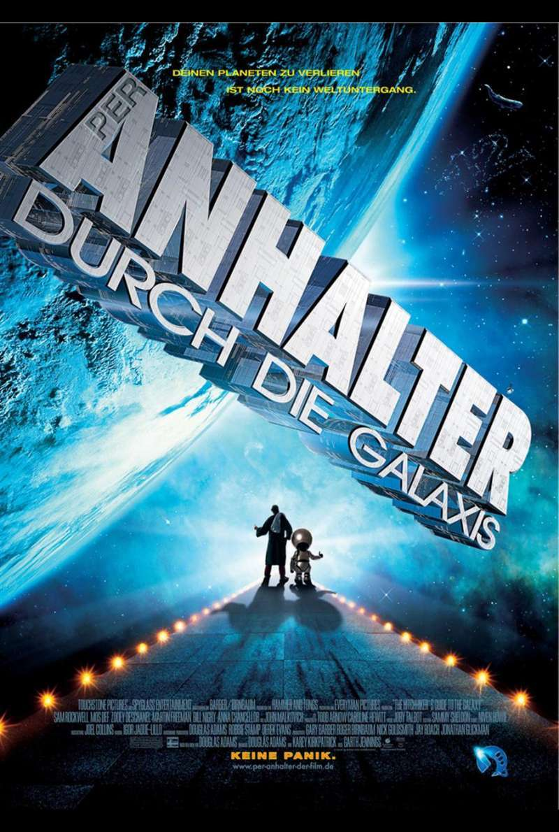 Per Anhalter durch die Galaxis – The Hitchhiker's Guide to the Galaxy Plakat