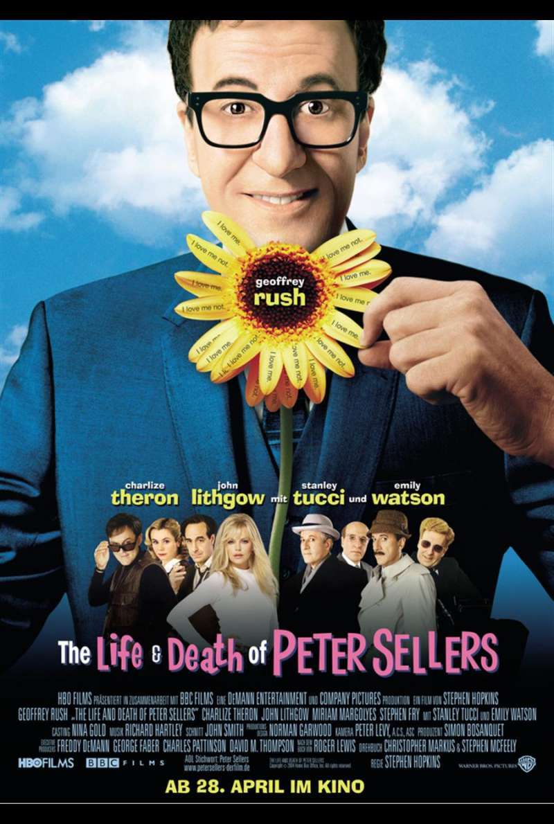The Life and Death of Peter Sellers Plakat
