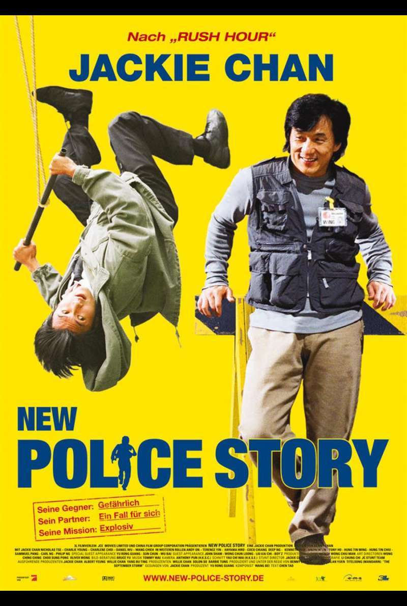 New Police Story Plakat