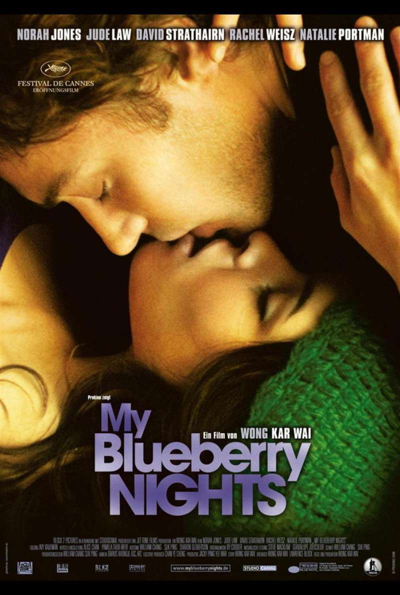 My Blueberry Nights Plakat