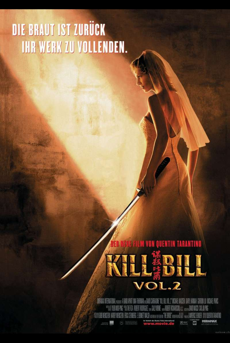 Kill Bill Vol. 2 Plakat