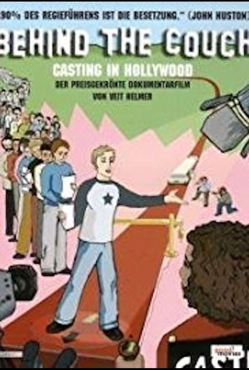 Behind the Couch - Casting in Hollywood Plakat