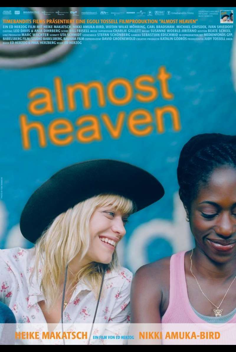Almost Heaven Plakat