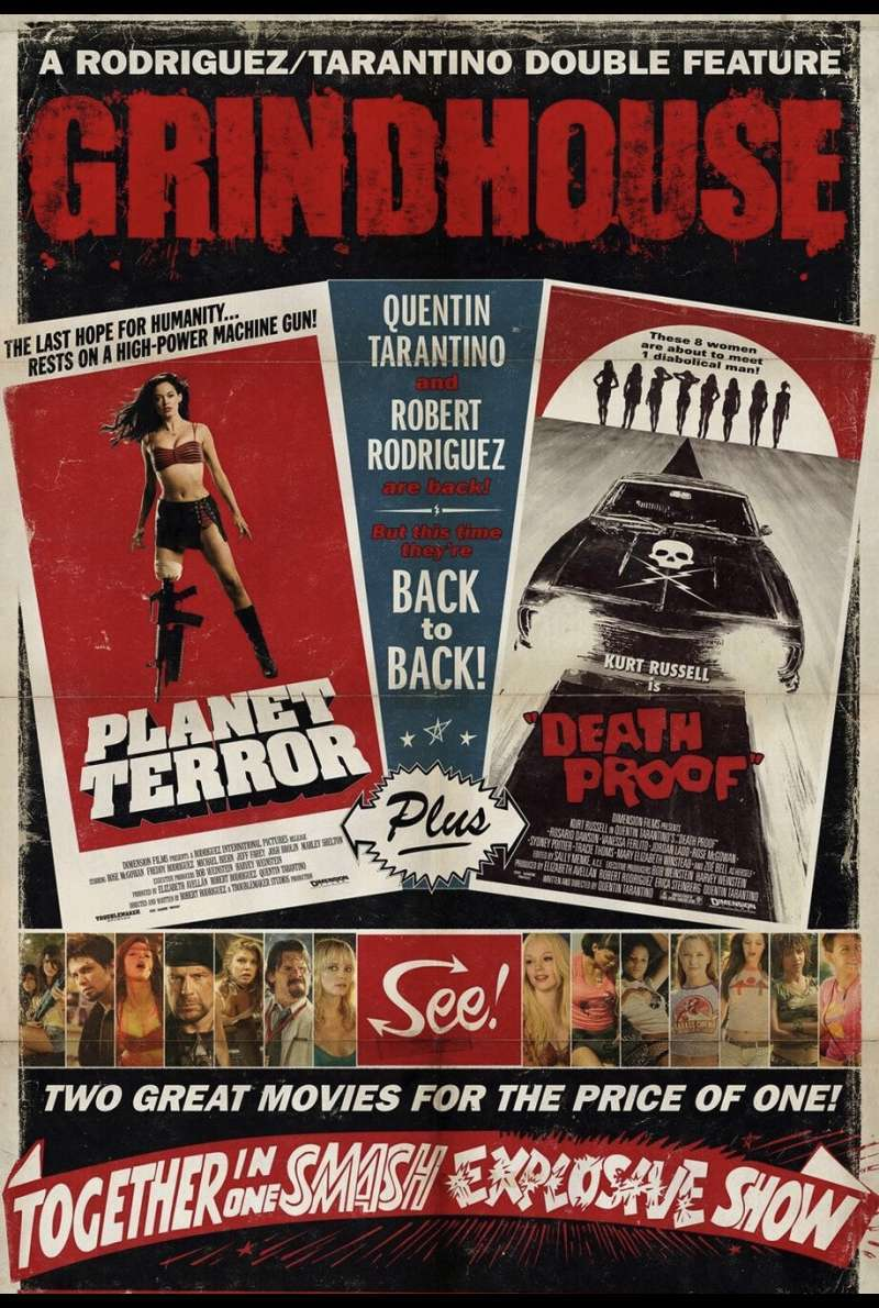 Grindhouse Death Proof Plakat