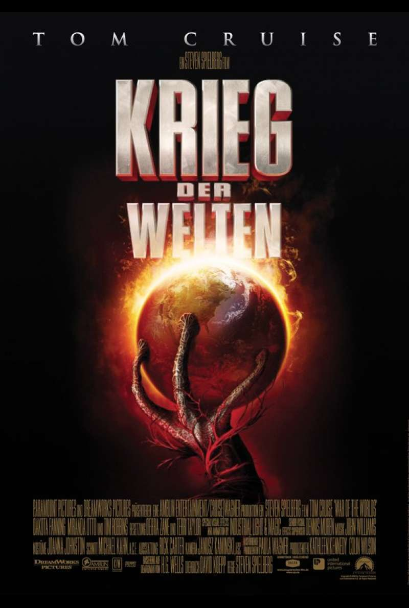 Krieg der Welten - The War of the Worlds Plakat