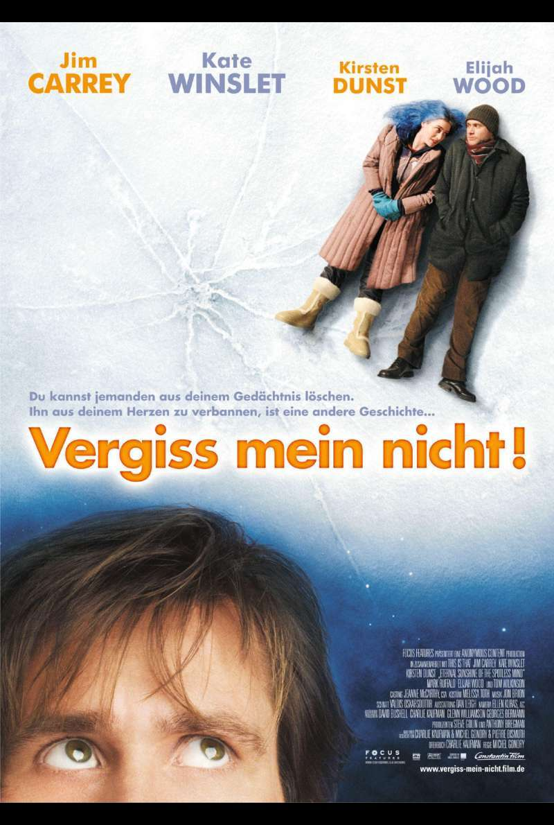 Vergiss mein Nicht! - Eternal Sunshine of the Spotless Mind Plakat