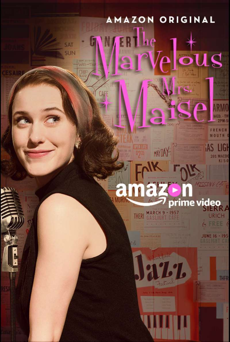 Plakat zu The Marvelous Mrs. Maisel