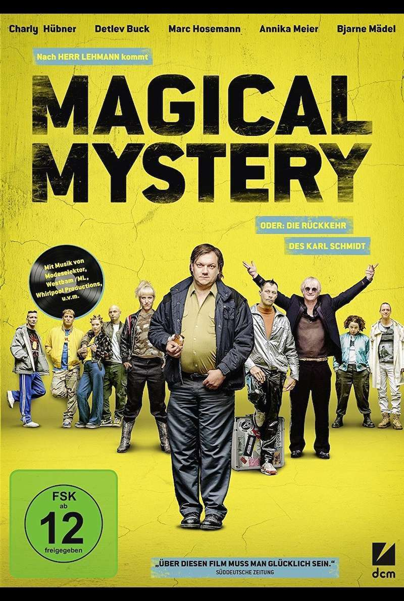 DVD-Cover zu Magical Mystery (2017)