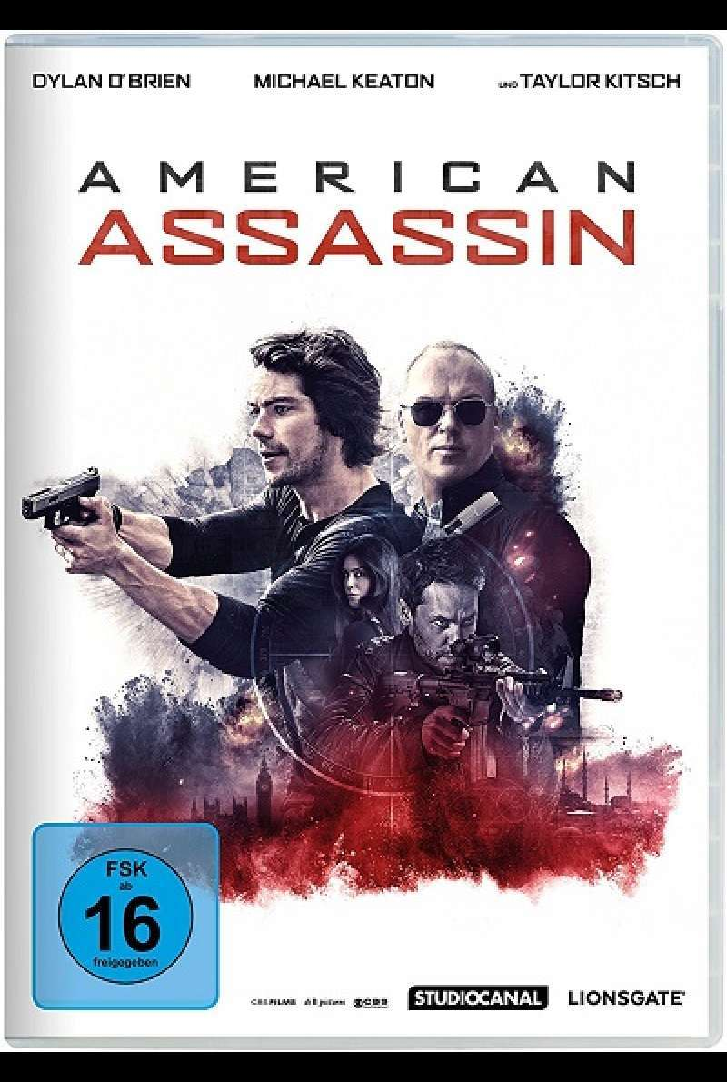 American Assassin - DVD-Cover