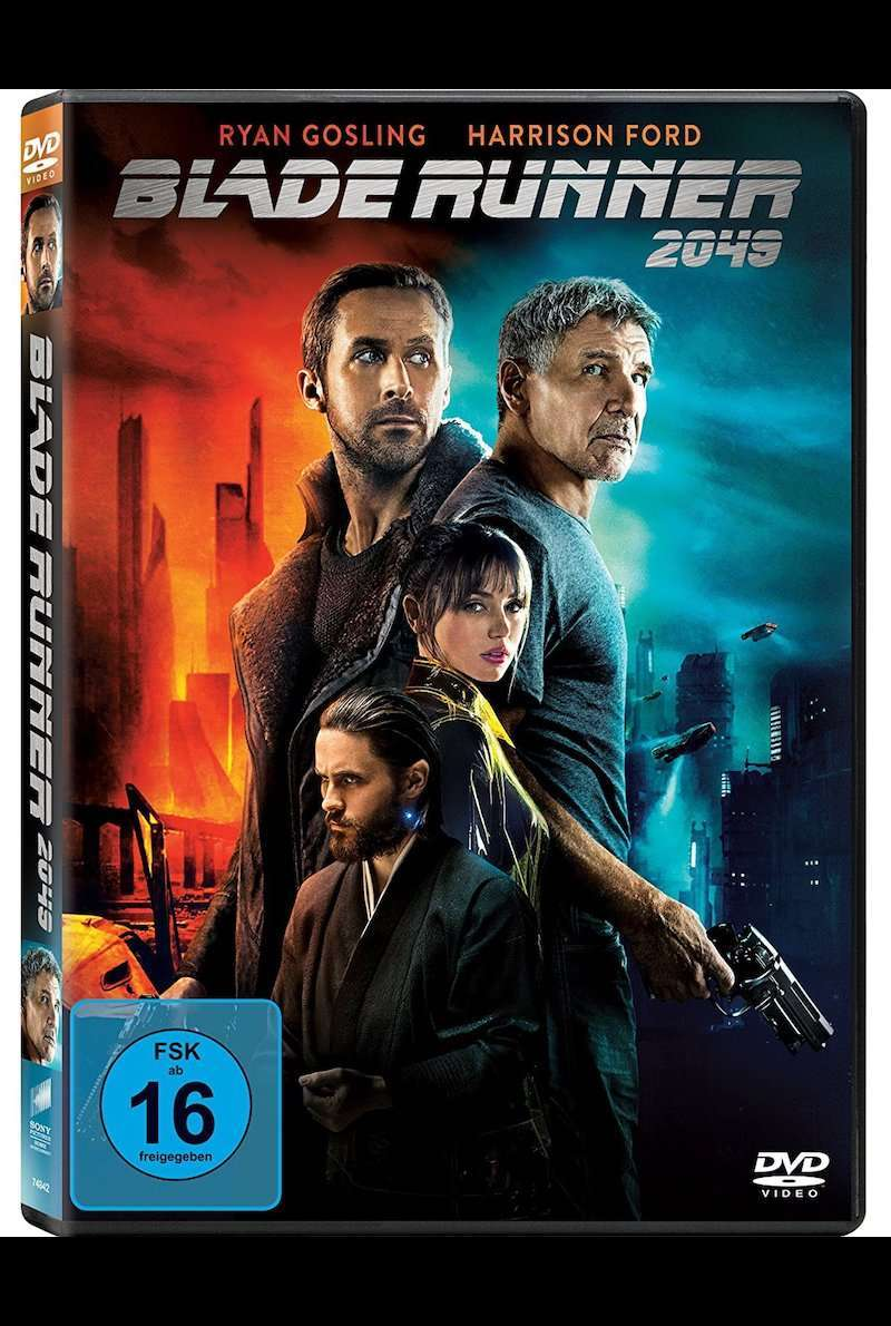 DVD-Cover zu Blade Runner 2049