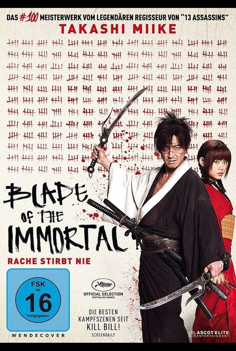 DVD-Cover zu Blade of the Immortal (2017)