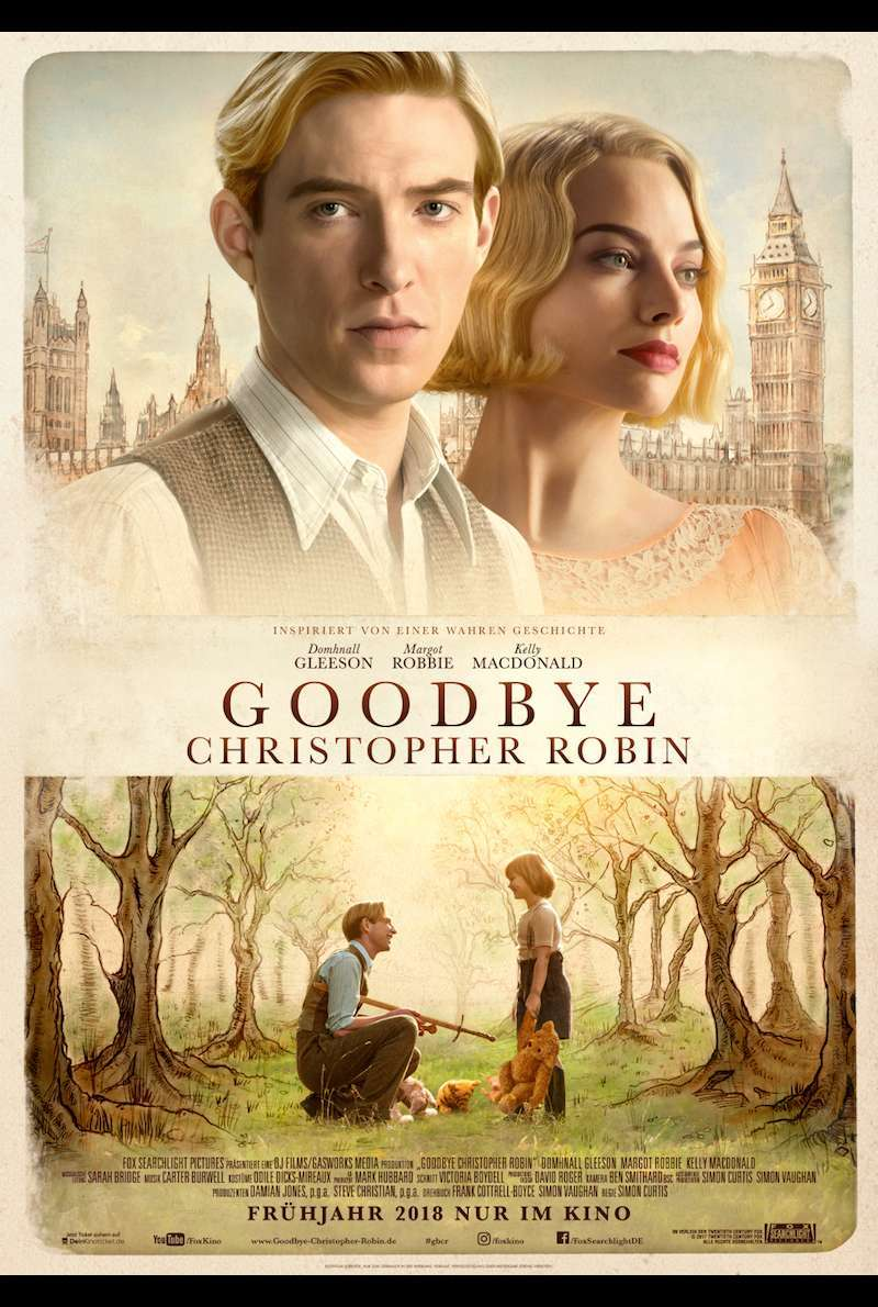 Poster zu Goodbye Christopher Robin (2017)
