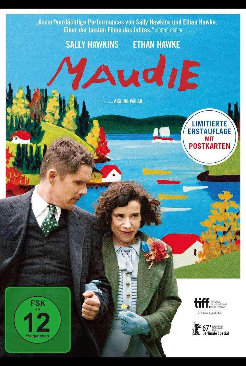 DVD-Cover zu Maudie (2017)