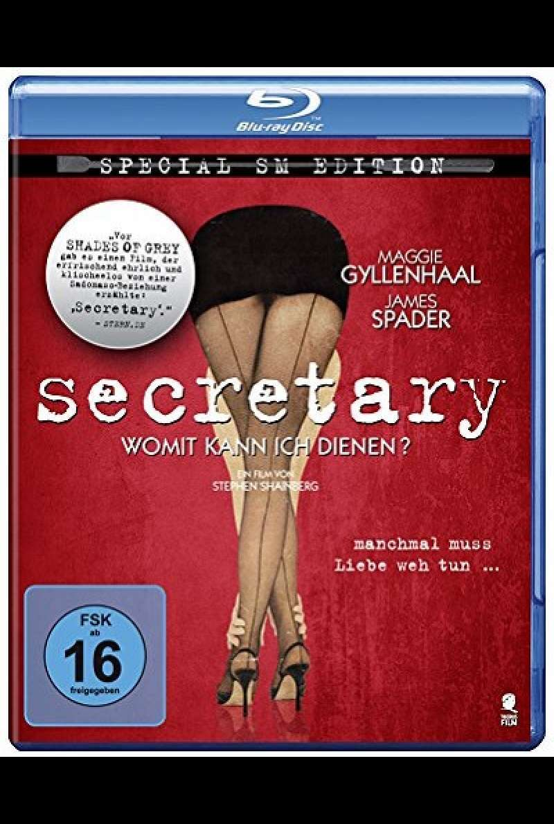 Secretary - Blu-ray-Cover