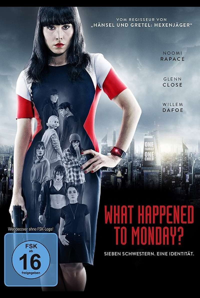 What Happened to Monday? - DVD-Cover