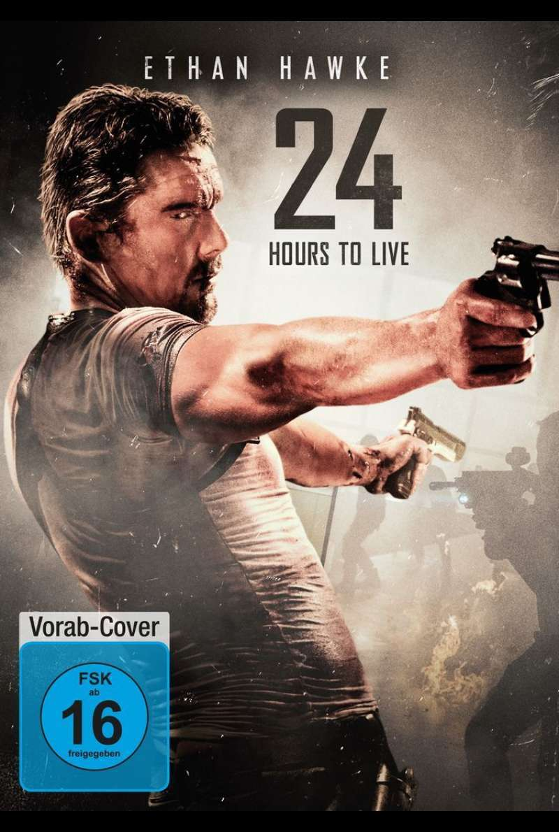 DVD-Cover zu 24 Hours to Live (2017)